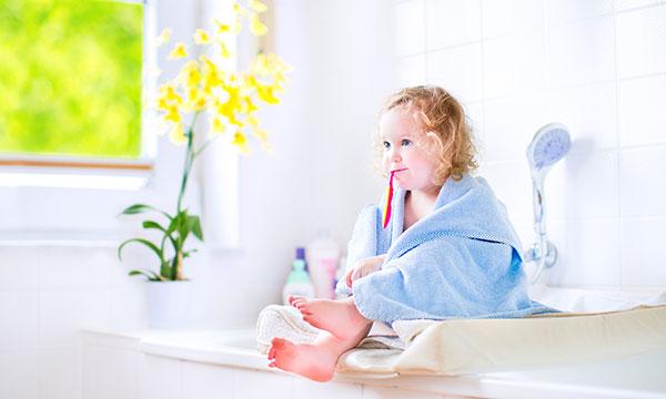 gadżety chroniące twoje dziecko - łazienka